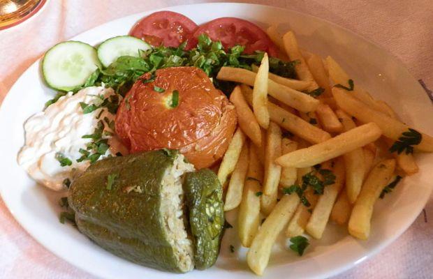 Jídlo v Řecku